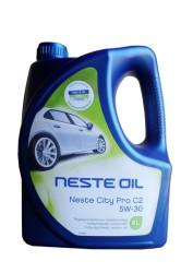 Моторное масло Neste City Pro C2 5W-30 (4 л.) 013945