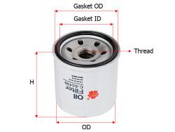 Фильтр масляный Sakura C65400