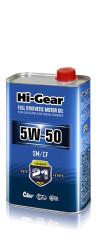 Моторное масло Hi-Gear 5W-50 (1 л.) HG0550
