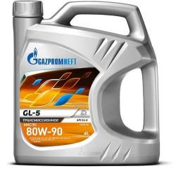Трансмиссионное масло Газпромнефть GL-5 80W-90 (4 л.) 2389901362