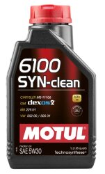 Моторное масло Motul 6100 Syn-Clean 5W-30 (1 л.) 107947