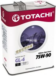 Трансмиссионное масло Totachi Ultima Syn-Gear GL-4 75W-90 (4 л.) 4589904931635