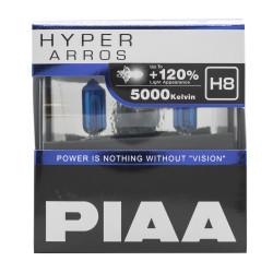 Автолампа PIAA Bulb Hyper Arros H8 5000K HE-924-H8