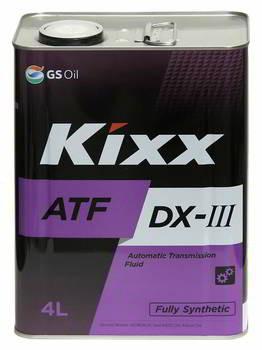 Трансмиссионное масло Kixx ATF Dexron III (4 л.) L250944TE1