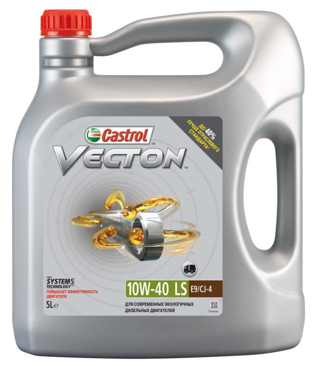 Моторное масло Castrol Vecton 10W-40 LS (5 л.) 156DAD