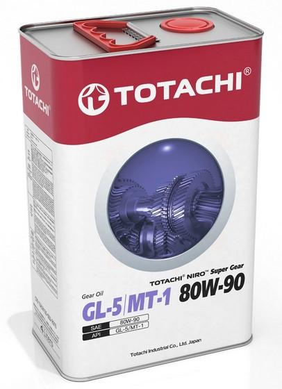 Трансмиссионное масло Totachi Niro Super Gear 80W-90 (4 л.) 4589904921957
