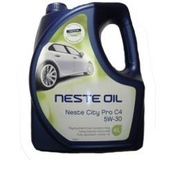 Моторное масло Neste City Pro C4 5W-30 (4 л.) 014045