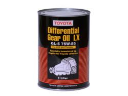 Трансмиссионное масло Toyota Differential Gear Oil LX GL-5 75W-85 (1 л.) 08885-02606