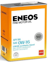 Моторное масло Eneos Fine Motor Oil SN 0W-16 (4 л.) 4943589135342