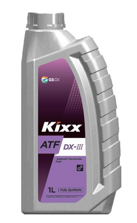 Трансмиссионное масло Kixx ATF Dexron III (1 л.) L2509AL1E1