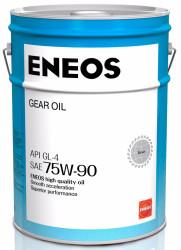 Трансмиссионное масло Eneos Gear 75W-90 GL-4 (20 л.) 8809478942544