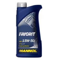 Моторное масло Mannol Favorit 15W-50 (1 л.) 1134