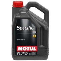 Моторное масло Motul Specific 0720 5W-30 (5 л.) 102209