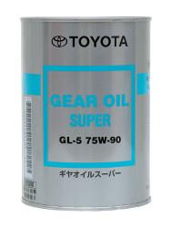Трансмиссионное масло Toyota Gear Oil Super GL-5 75W-90 (1 л.) 08885-02106