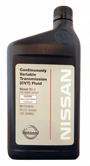 Трансмиссионное масло Nissan NS-3 (1 л.) 999MP-NS300P
