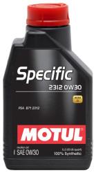 Моторное масло Motul Specific 2312 0W-30 (1 л.) 105752