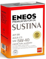 Моторное масло Eneos Sustina 5W-40 (4 л.) 4943589134710