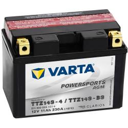 Аккумулятор Varta Powersports AGM 11Ah 230A 87x150x110 п.п. (+-) 511902023