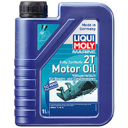 Масло двухтактное Liqui Moly Marine Fully Synthetic 2T Motor Oil (1 л.) 25021
