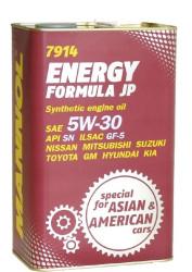 Моторное масло Mannol 7914 Energy Formula JP 5W-30 (4 л.) 4030