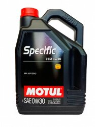 Моторное масло Motul Specific 2312 0W-30 (5 л.) 105739