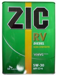 Моторное масло ZIC RV 5W-30 (4 л.) 167134
