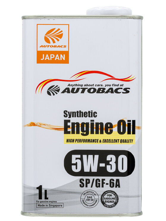 Моторное масло Autobacs Synthetic 5W-30 SP (1 л.) A00032427