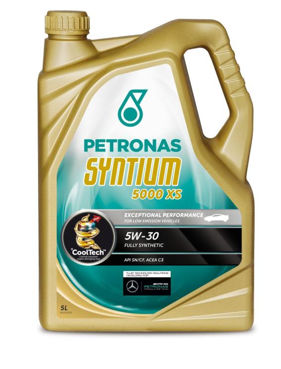 Моторное масло Petronas Syntium 5000 XS 5W-30 (5 л.) 70130M12EU