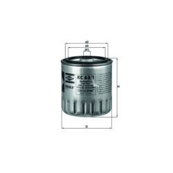 Фильтр топливный Mahle-Knecht KC631D