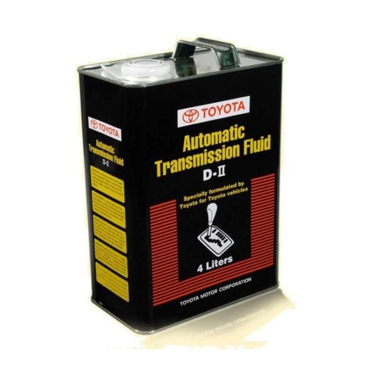 Трансмиссионное масло Toyota Automatic Transmission Fluid D-II (4 л.) 08886-81005