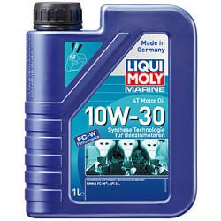 Масло четырехтактное Liqui Moly Marine 4T Motor Oil 10W-30 (1 л.) 25022