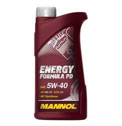 Моторное масло Mannol Energy Formula PD 5W-40 (1 л.) 4013