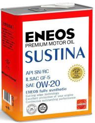 Моторное масло Eneos Sustina 0W-20 (4 л.) 4943589134628