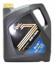 Моторное масло S-Oil Seven BLUE CI 15W-40 (4 л.) BL15W40_04