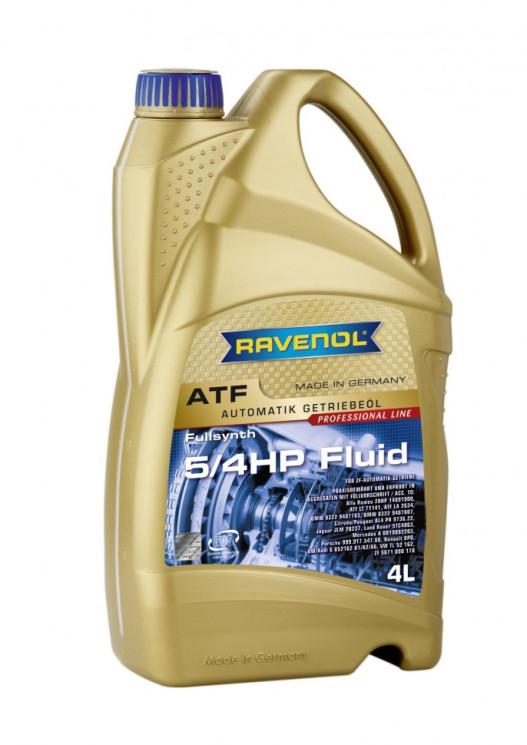 Трансмиссионное масло Ravenol ATF 5/4HP Fluid (4 л.) 1212104004