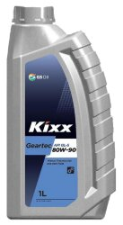 Трансмиссионное масло Kixx Geartec GL-5 80W-90  (1 л.) L2983AL1E1