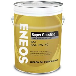 Моторное масло Eneos Gasoline Super SM 5W-50 (20 л.) Oil4075