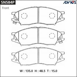 Тормозные колодки Advics SN584P