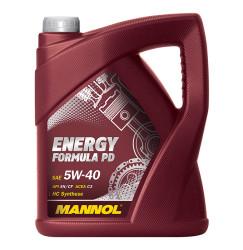 Моторное масло Mannol Energy Formula PD 5W-40 (5 л.) 4014