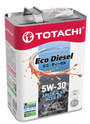 Моторное масло Totachi Eco Diesel 5W-30 (4 л.) 4562374690479