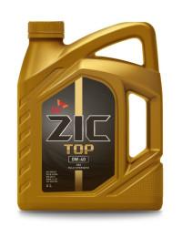 Моторное масло ZIC TOP 0W-40 (4 л.) 162611