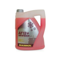 Охлаждающая жидкость Mannol Long Life AF12+ (5 л.) 2039
