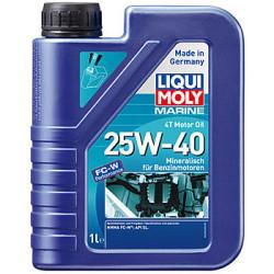 Масло четырехтактное Liqui Moly Marine 4T Motor Oil 25W-40 (1 л.) 25026