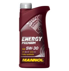 Моторное масло Mannol Energy Premium 5W-30 PAO (1 л.) 4006