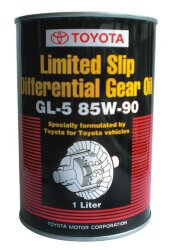Трансмиссионное масло Toyota Limited Slip Differential Gear Oil GL-5 85W-90 (1 л.) 08885-81006