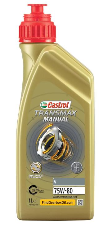 Трансмиссионное масло Castrol Transmax Manual V 75W-80 (1 л.) 15D7F9