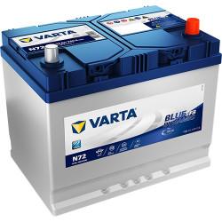 Аккумулятор Varta Blue Dynamic EFB 72Ah 760A 261x175x219 о.п. (-+) 572501076