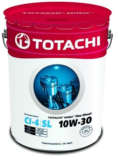 Моторное масло Totachi Niro Fine Diesel 10W-30 (19 л.) 4589904921568