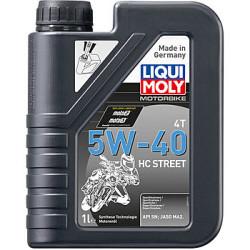 Масло четырехтактное Liqui Moly Motorbike 4T HC Street 5W-40 (1 л.) 20750