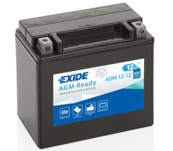 Аккумулятор Exide AGM12-12 12Ah 200A 150x87x145 п.п. (+-) AGM Ready